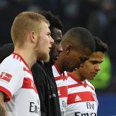 Bundesliga-Dino am Rande des Abgrunds