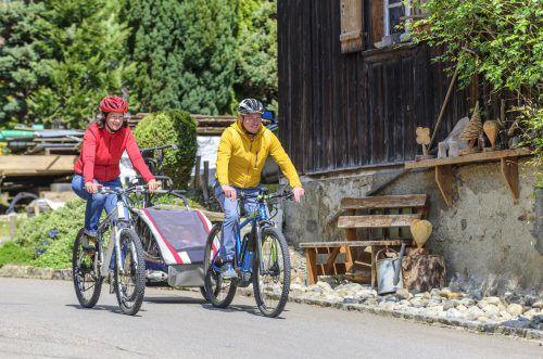 """Bis in den September hinein können im Rahmen des Fahrradwettbewerbs """"Radius"""" noch Kilometer gesammelt werden. Rochau"""