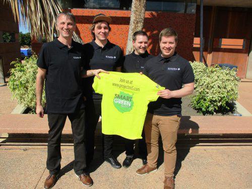Die Studenten Niklas Fessler, Daniel Griesser und Patrick Schedler haben für die FH Vorarlberg am internationalen Makeathon auf Gran Canaria teilgenommen. FHV