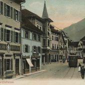 Der Dornbirner Marktplatz im Wandel der Zeiten