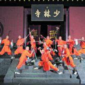 Shaolin Mönche mit neuer ShowA mi to fo im Festspielhaus