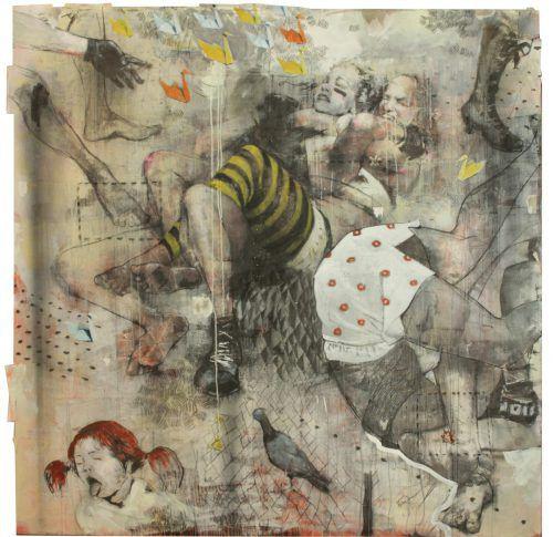 """Die Werke von sechs Künstlern sind derzeit unter dem Titel """"Emotional Journey"""" im Bildraum Bodensee zu sehen.Svikis, Petra Rainer"""