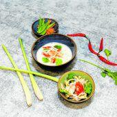 Köstliche Tom Kha Gai Suppe