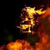 Graf Lukas der Hexerich soll brennen