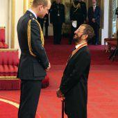 Ringo Starr ist jetzt Ritter