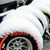 Die Formel 1 im Schnee