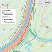 Mehr Fläche und Pumpen gegen Hochwasser