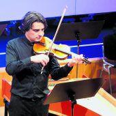 Violinen auf Götzner Kulturbühne. D7