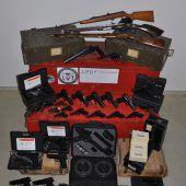 Illegaler Waffenhandel aufgeflogen, Verdächtige auch aus Vorarlberg. B1