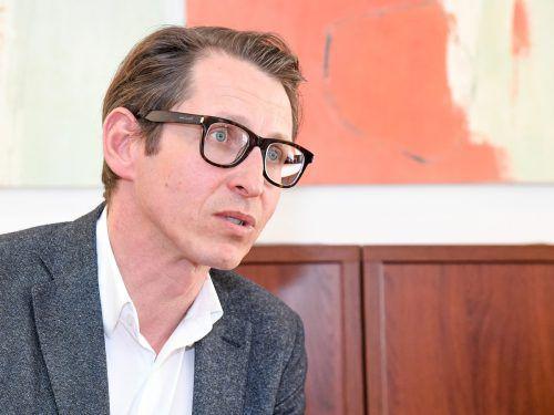 Dieter Bitschnau, Obmann der Sparte Information und Consulting. VN/Lerch