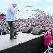 DJ Ötzi auf Gipfeltour im Montafon