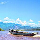 Laos: Slalom auf dem Mekong