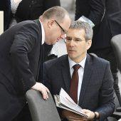 Viel Kritik am Budget des Finanzministers