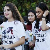 Schüler in Parkland kehrten nach Massaker in ihre Klassen zurück