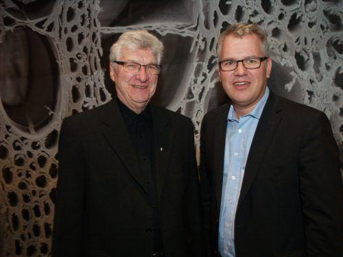 Generalvikar Rudolf Bischof und Pastoralamtsleiter Martin Fenkart.