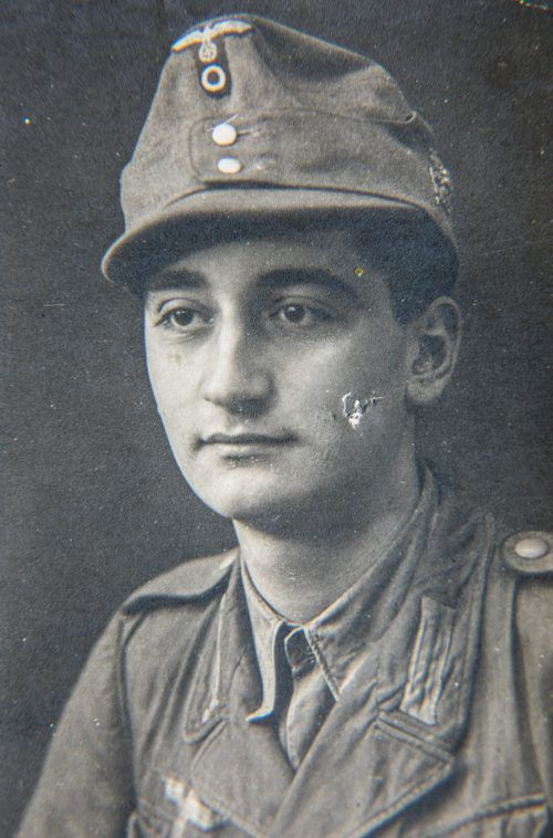 Georg Mandl wurde Ende 1944 an die ungarische Front geschickt.