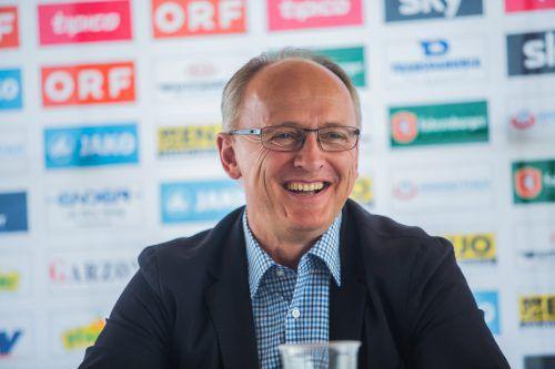 Georg Zellhofer verlängerte seinen Vertrag vorzeitig bis 2020. steurer