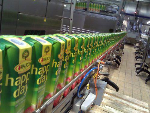 Konsequente Umsetzung aller Maßnahmen beim Fruchtsafthersteller Rauch.