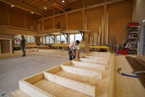 Holzbaubetriebe waren 2017 und sind 2018 gut mit Aufträgen versorgt.Berchtold