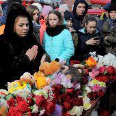 Über 60 Menschen starben in brennendem Einkaufszentrum