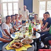 Das Deutschcafé lädt zum gemütlichen Osterfest