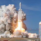SpaceX-Marsrakete soll 2019 erste Strecken fliegen