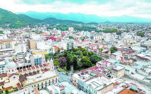 Inmitten einer traumhaften Landschaft befindet sich die Stadt Salta.Edelweiss/Melanie Stocker