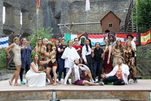 Internationale Begegnungen und spannende Aktivitäten stehen bei den Ländle-goes-Europe-Camps auf dem Programm.aha