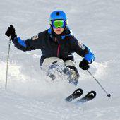 Ski-Artisten auf dem Bödele