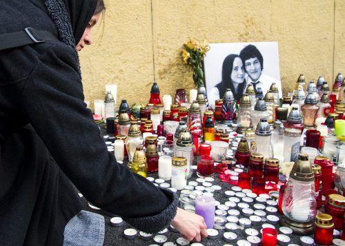 Jan Kuciak und seine Verlobte sind in ihrem Haus erschossen worden. Ap