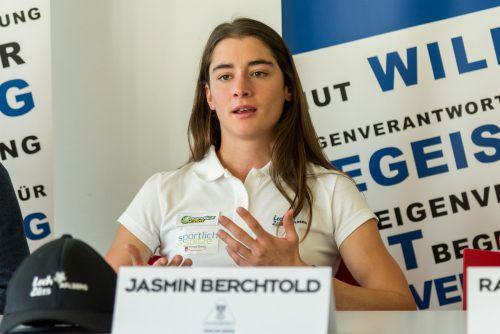 Jasmin Berchtold freut sich auf die Pause und will für die WM angreifen. VN/Stiplovsek