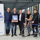 Die Stadt Hohenems fährt immer mehr aufs Radeln ab