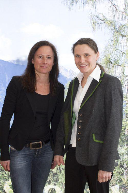 Karin Müller-Vögel (l.) und Sylvia Ackerl.