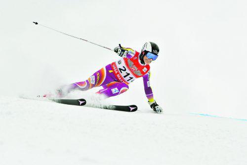 Klaus Netzer in Aktion – der Montafoner holte sich bei der Masters-WM Gold im Riesentorlauf.FIS
