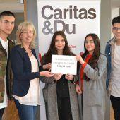 Finanzspritze für Lerncafés der Caritas