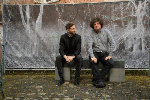 Kurator Boaz Levin (l.) wurde von Direktor Hanno Loewy mit der Umsetzung der neuen Ausstellung betraut.