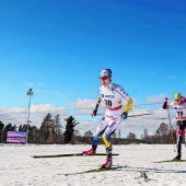 Kleine Punkte für Baldauf in Falun in der Sprintkonkurrenz