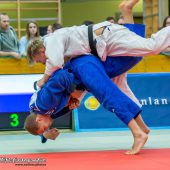 Judoka Böhler auf Podest beim Grand-Slam-Turnier