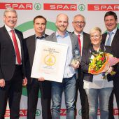 Eurospar Dornbirn-Schwefel mit Goldener Tanne prämiert