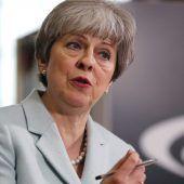 Brexit-Entwurf empört britische Regierungschefin