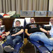 Erfolgreiche Blutspendeaktion