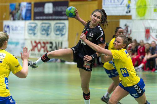 Monika Haller war SSV-Topskorerin beim Auswärtssieg in Wr. Neustadt.VN/Stiplovsek