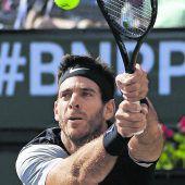 Del Potro gewinnt gegen Federer