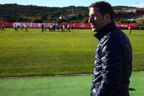 Nach mehreren Reisewochen wartet auf Teamchef Franco Foda der erste Lehrgang mit dem Nationalteam in diesem Jahr.gepa
