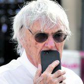 Bernie Ecclestone ist noch immerein Arbeitstier