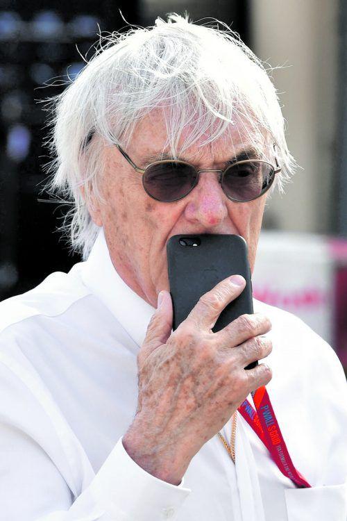 Neue Betätigungsfelder, alte Arbeitszeiten: Bernie Ecclestone. apa