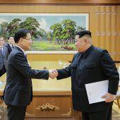 Koreas beschließen ein historisches Treffen