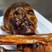 Der Ötzi im Ausstellungsstress