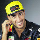 Daniel Ricciardo wirdstrafversetzt