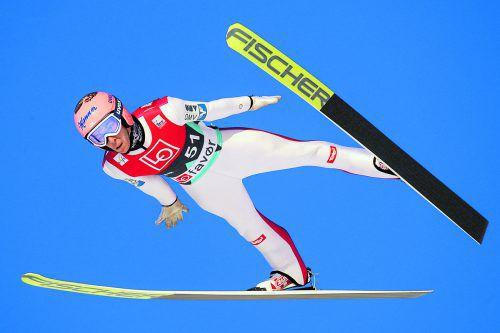 Platz fünf in der Qualifikation und Luft nach oben: Stefan Kraft.gepa
